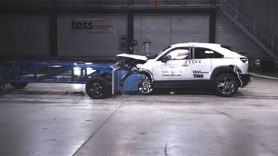 Euro NCAP: Five stars for Mazda MX-30