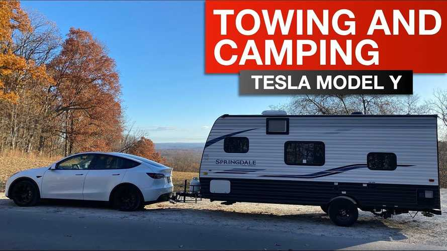Tesla Model Y: Towing A Travel Trailer With This Electric Crossover SUV