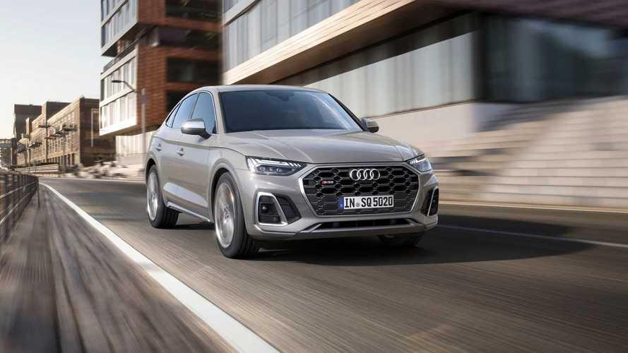 2020 Audi SQ5, dizel motoru ile azami hız testinde