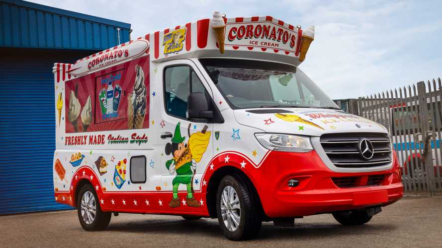 Mercedes Sprinter, il furgone dei gelati ideale