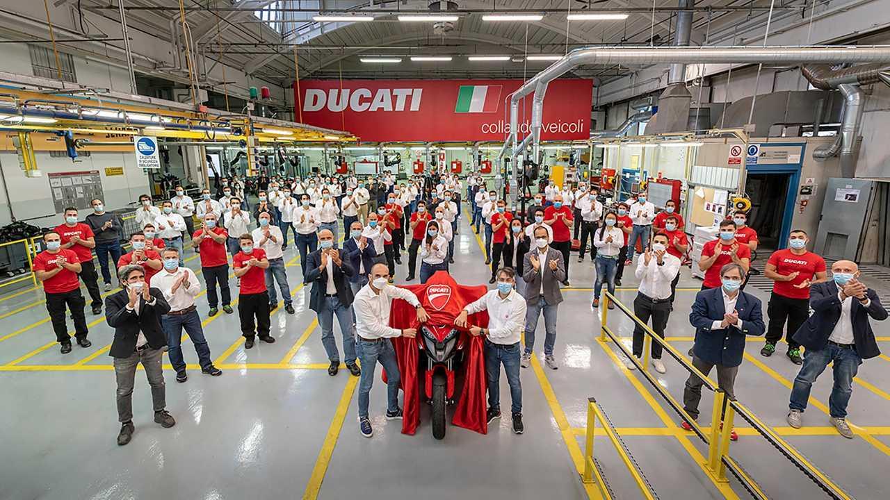 Ducati Multistrada V4 Goes Into Production