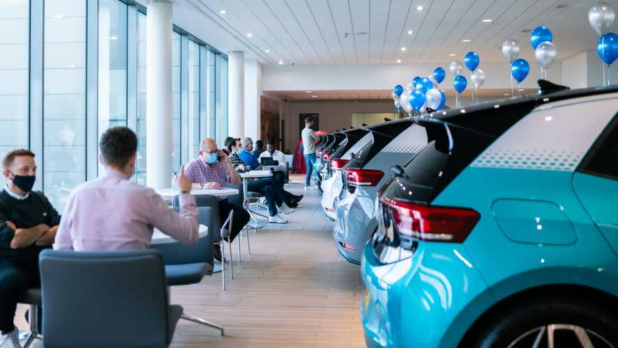 First UK customers receive their Volkswagen ID.3s