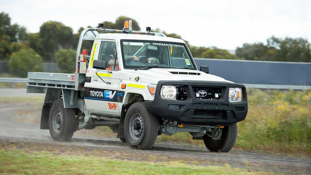 Toyota Land Cruiser 70 EV