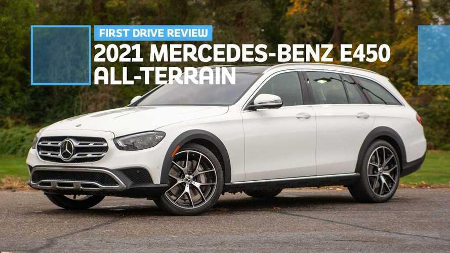2021 Mercedes-Benz E450 All-Terrain First Drive Review: Get High