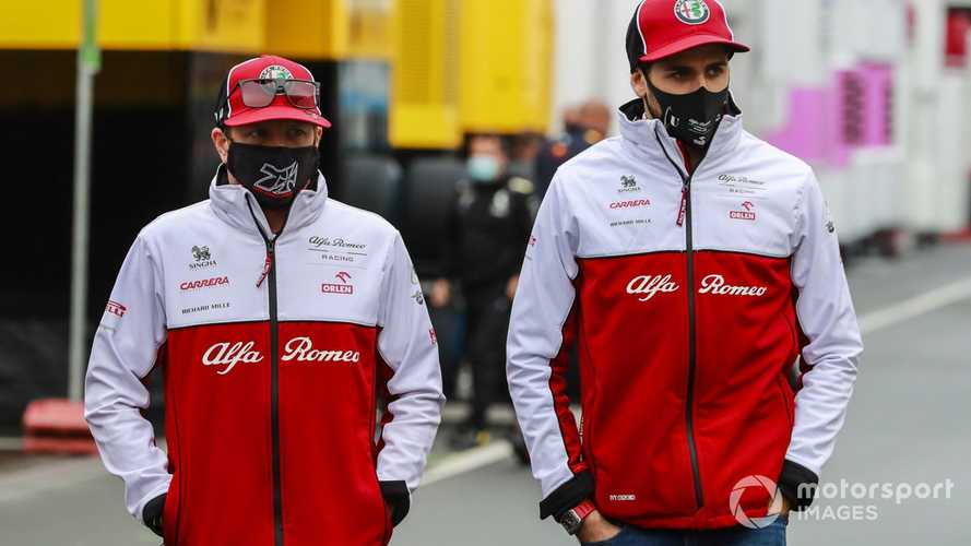 F1: Raikkonen, Giovinazzi to stay at Alfa Romeo in 2021