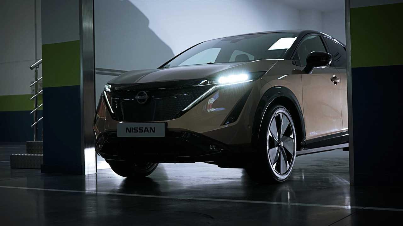 Nissan Ariya unboxing in Europe