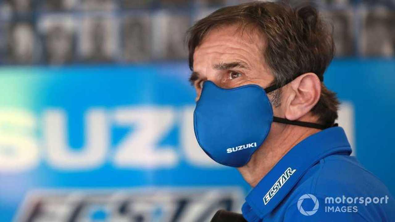 Davide Brivio at Emilia-Romagna GP 2020