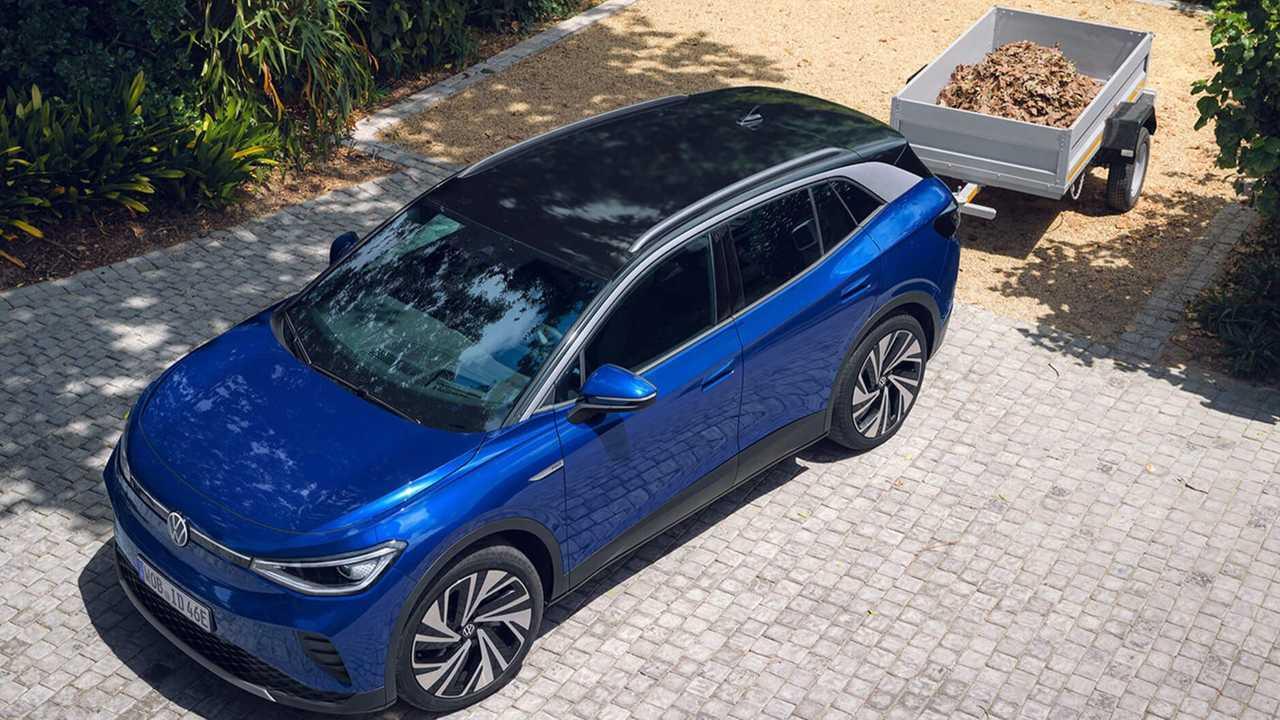 Volkswagen ID.4 towing