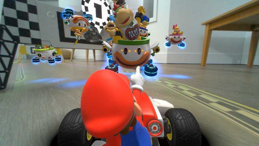Mario Kart Live Home Circuit, il primo Mario Kart a realtà aumentata