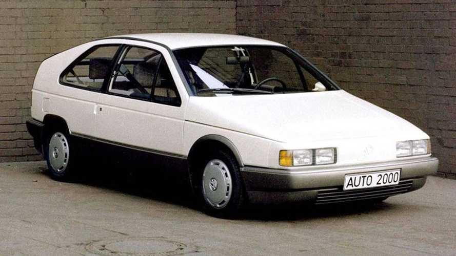 Prototipos olvidados: Volkswagen Auto 2000 (1981)