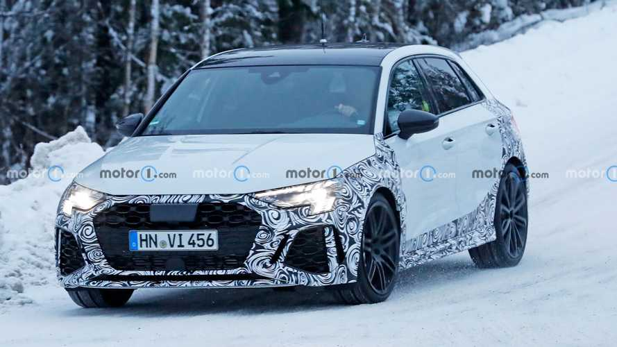 New Audi RS3 Sportback Spy Photos