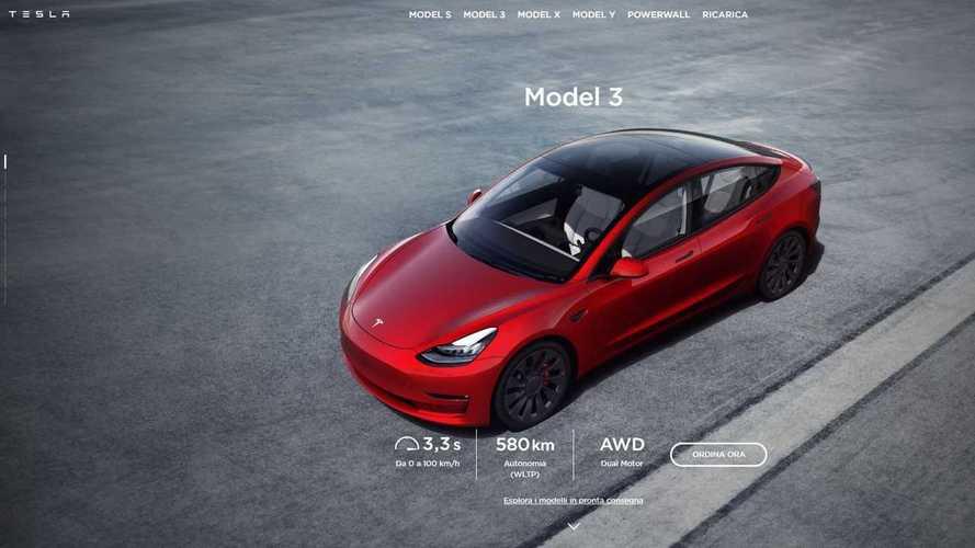 Tesla alza i prezzi: ritoccati i listini italiani di Model 3 e Model S