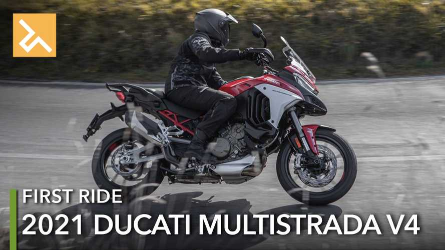 2021 Ducati Multistrada V4 First Ride Review: The MultiMoto