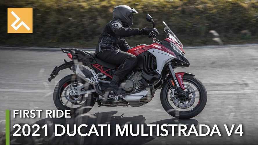 Ducati Multistrada V4 2021: Motor Canggih untuk Tur dan Bertualang