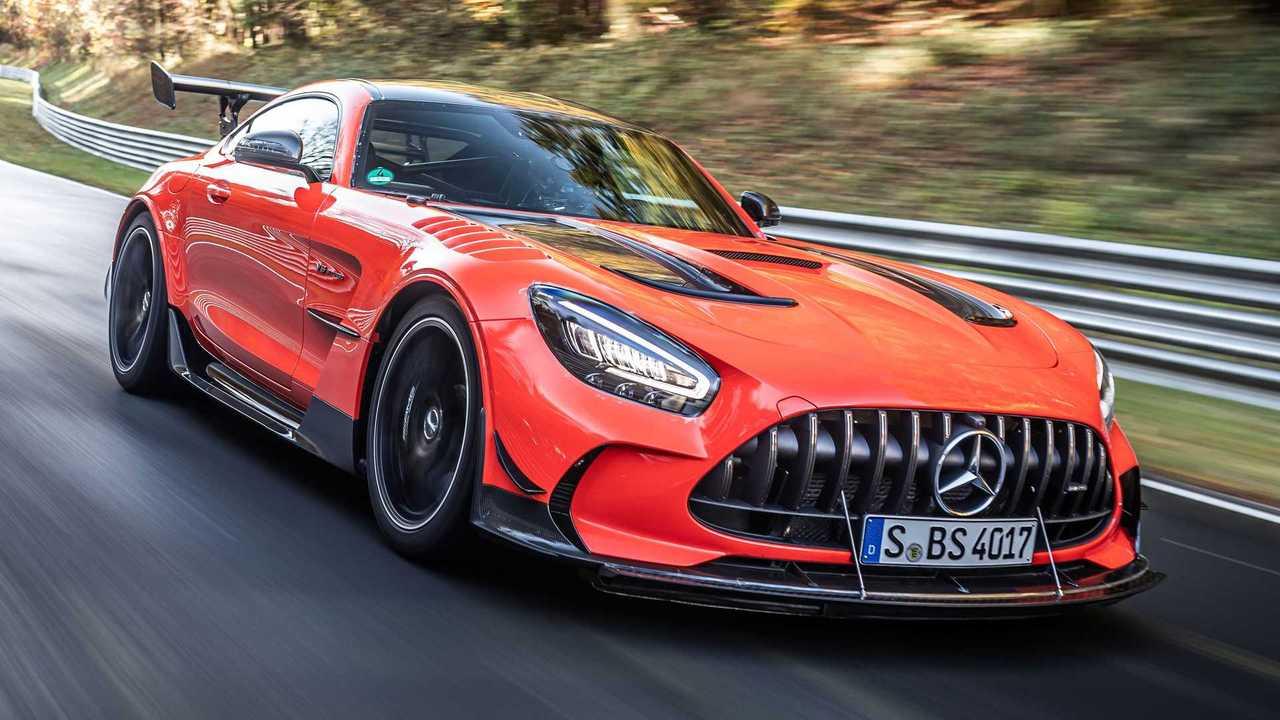 Der Mercedes-AMG GT Black Series auf dem Nürburgring