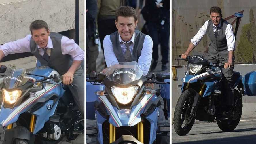 Mission Impossible 7: Tom Cruise guida la BMW G 310 GS della Polizia