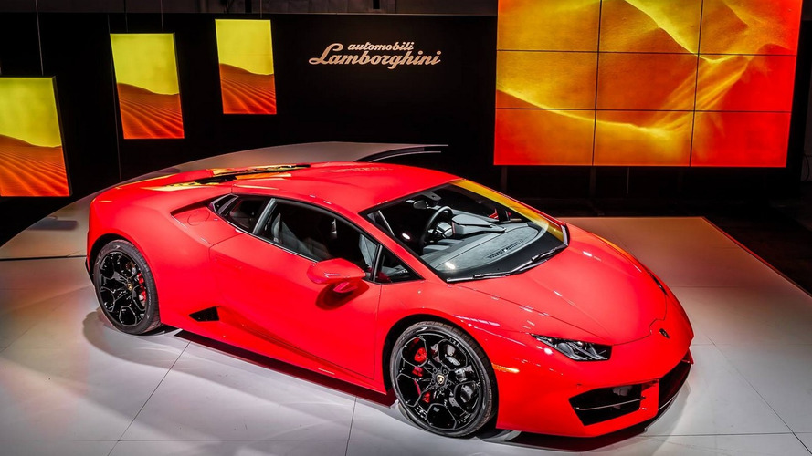 Check out the Lamborghini Huracan LP 580-2 premiere event from LA [video]