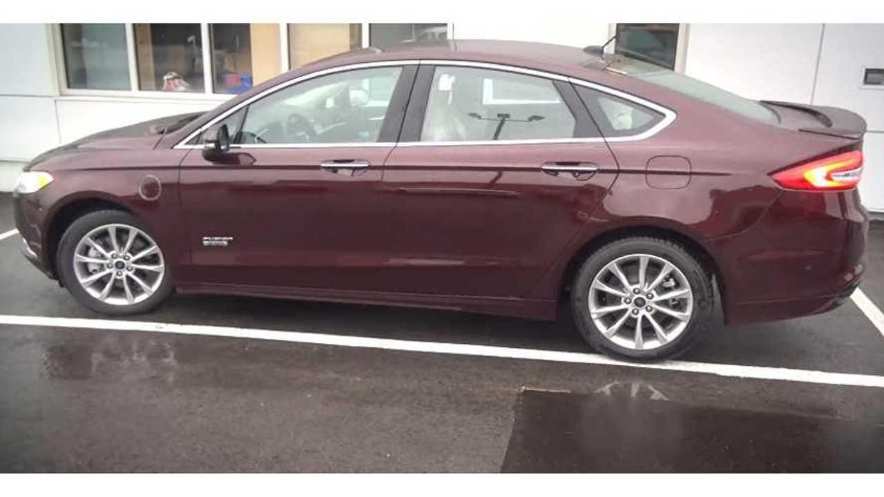 2017 Ford Fusion Energi | TEVAdrive