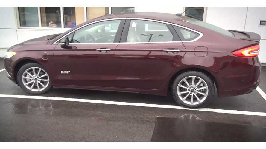 2017 Ford Fusion Energi Review and Test Drive - Video