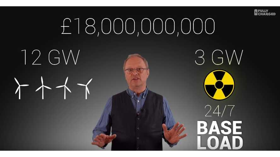 Fully Charged Points Out The Insane Costs Of Nuclear Power Stations - Video