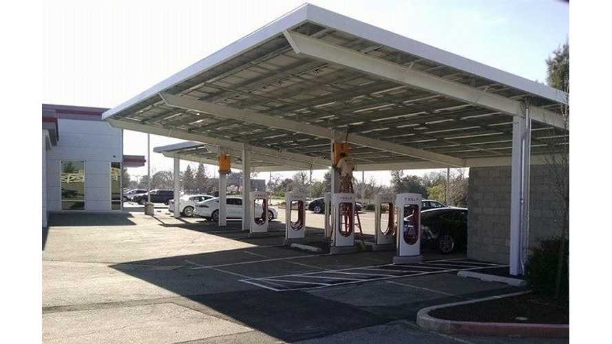 Tesla Superchargers Now Capable Of 145 kW