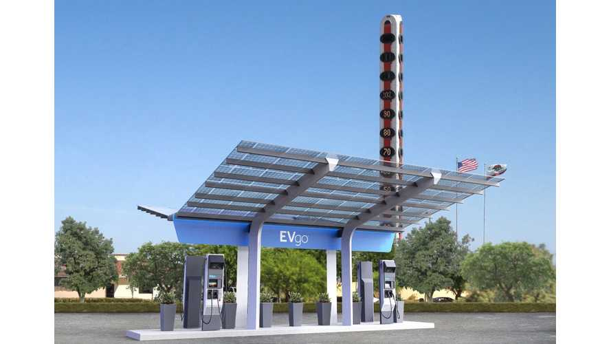 EVgo Installing First 350 kW Ultra Fast Public Charging Station In The US