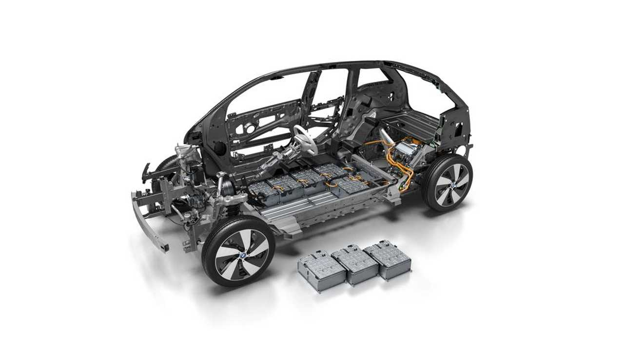2017 BMW i3 Cutaway