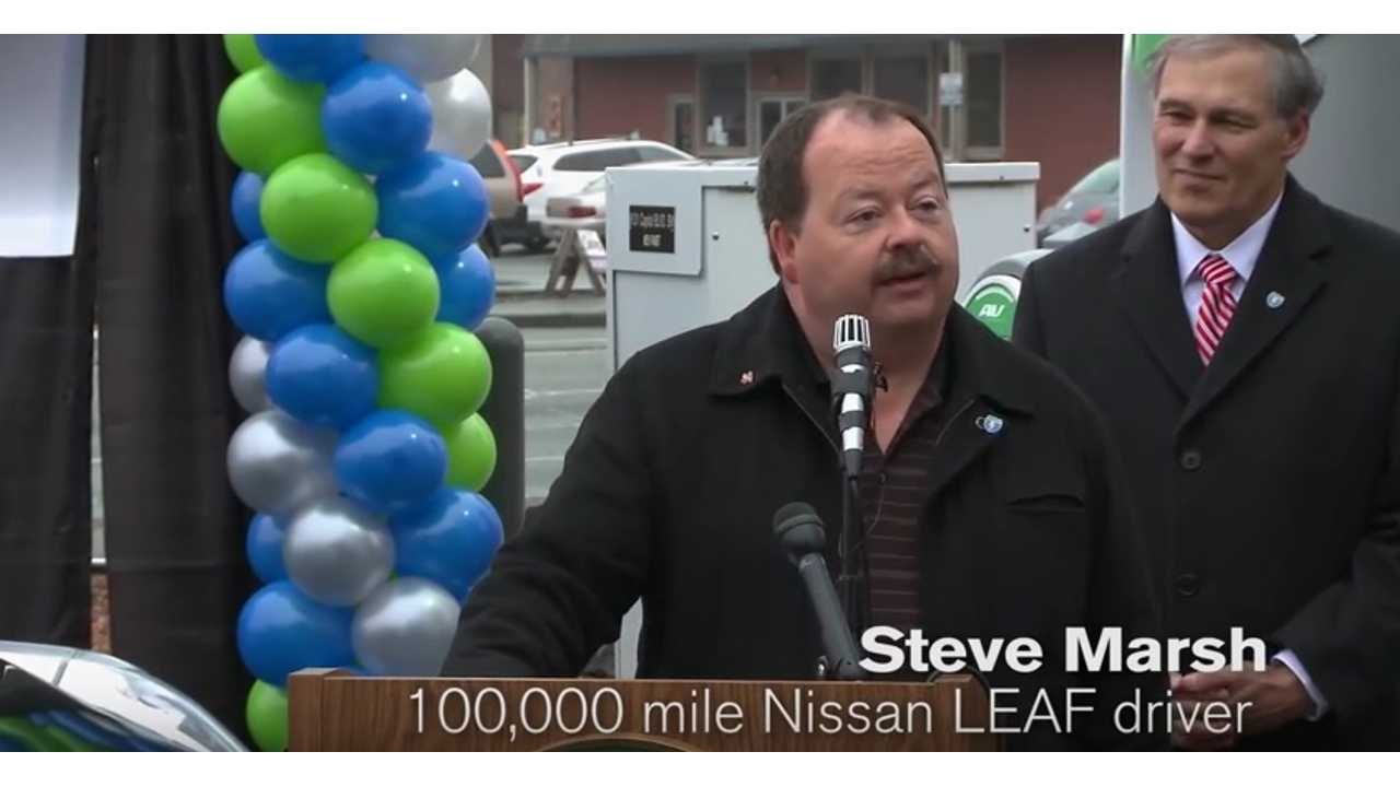 Exclusive Interview With Steve Marsh As His Nissan LEAF Hits 150,000 Miles (Original Battery)