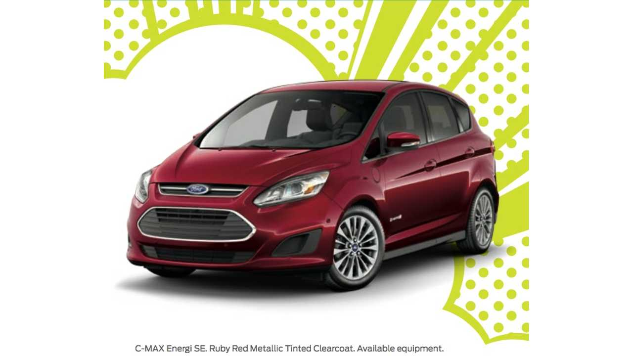 The 2017 Ford C-Max Energi in new
