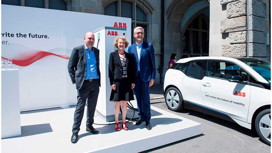 ABB Donates 30 Fast Chargers To City Of Zurich