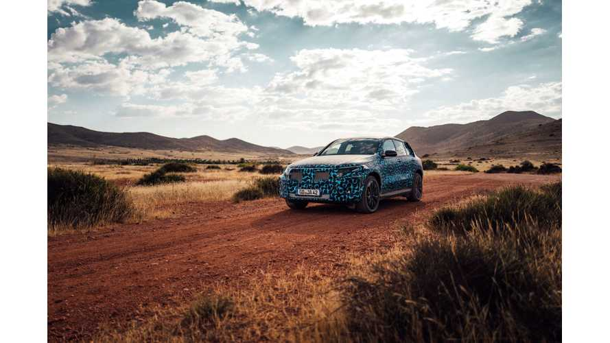 Mercedes-Benz EQC Conducts Summer Tests
