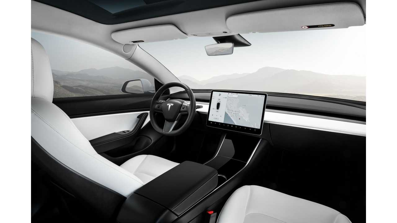 Tesla Model 3 Performance White Interior Wide Wallpaper 2 560x Click To Enlarge Insideevs Photos