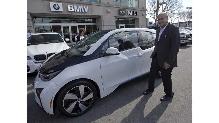 First U.S. BMW i3 Owner Still Loves His Electric Car