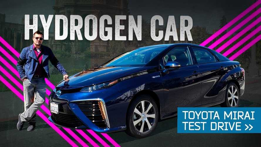 Mr. Mobile Drives Hydrogen Toyota Mirai To See If It's Really The Future