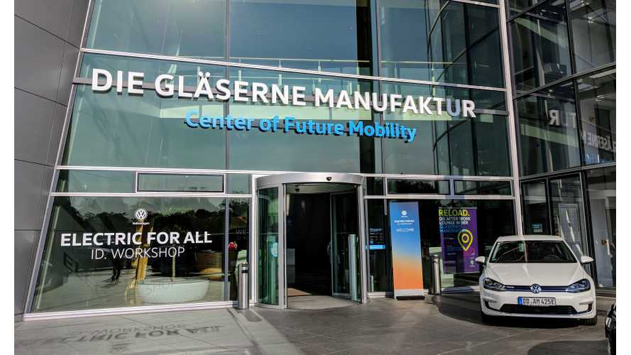 We Visit Volkswagen's Dresden Factory: Get Inside Scoop On EV Plans