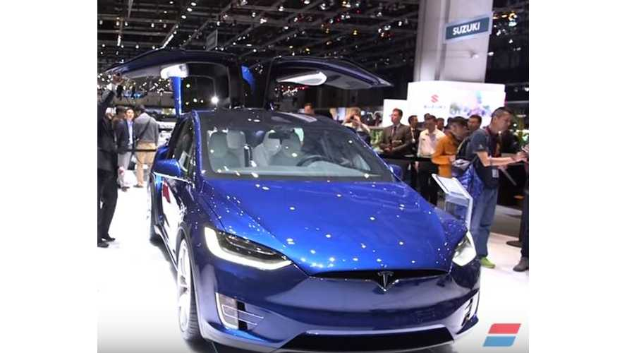 Tesla Model X Versus Maserati Levante – Video