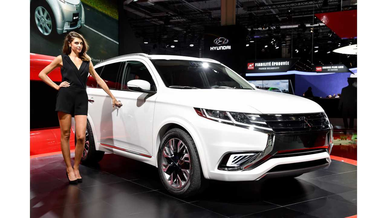 Thanks To A CARB Hiccup The US Did NOT Get To Purchase Any Of The World's Best Selling Plug-In From Mitsubishi (31k+). A Refreshed Outlander PHEV Will Come To The US In The Fall Of 2015 However (Mitsubishi Outlander PHEV Concept-S Shown)