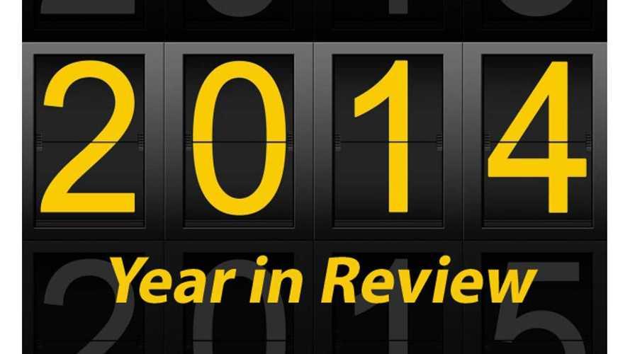 Global Plug-In Electric Vehicle Sales Recap 2014