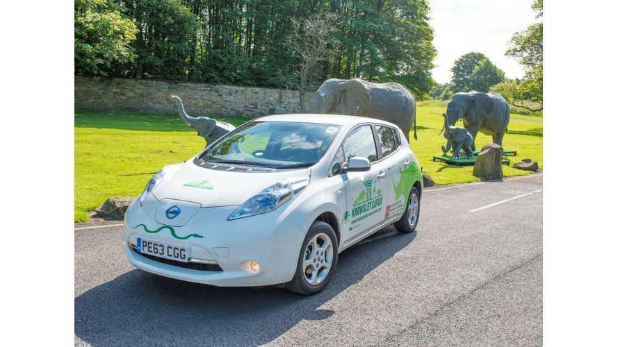 Nissan LEAF Roars Into Safari Service