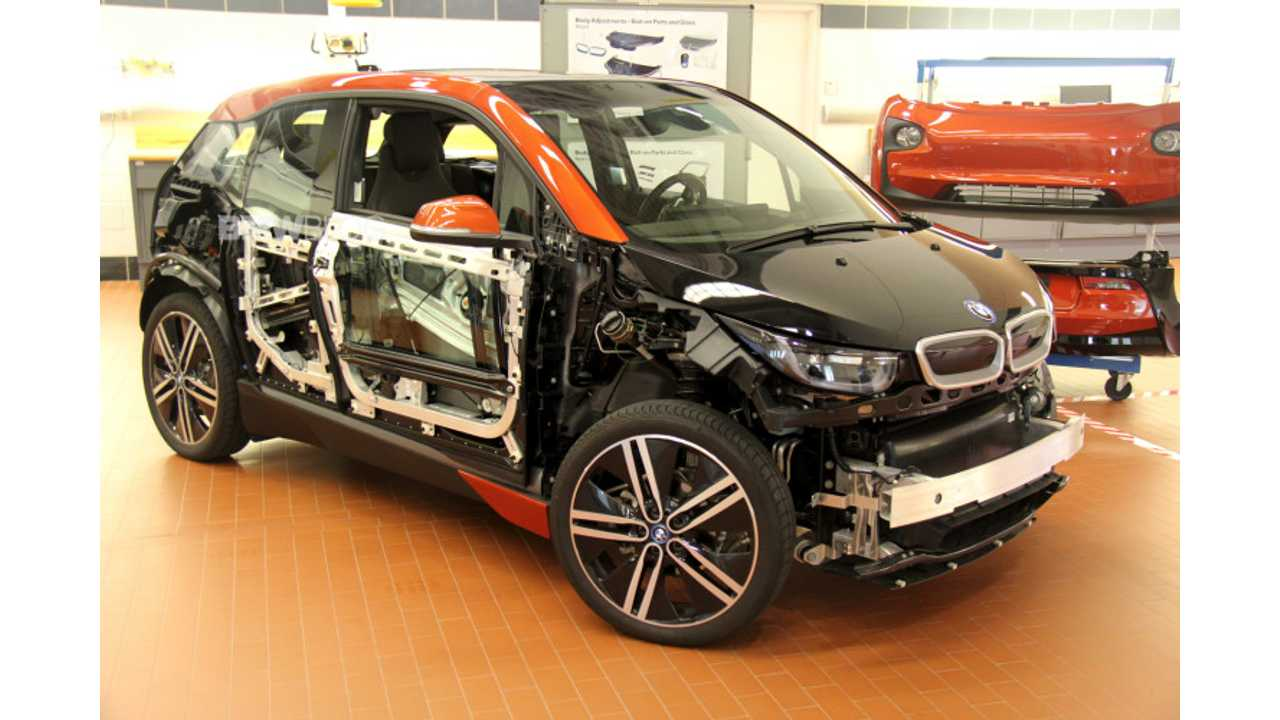 BMW i3 Repair Process In Detail