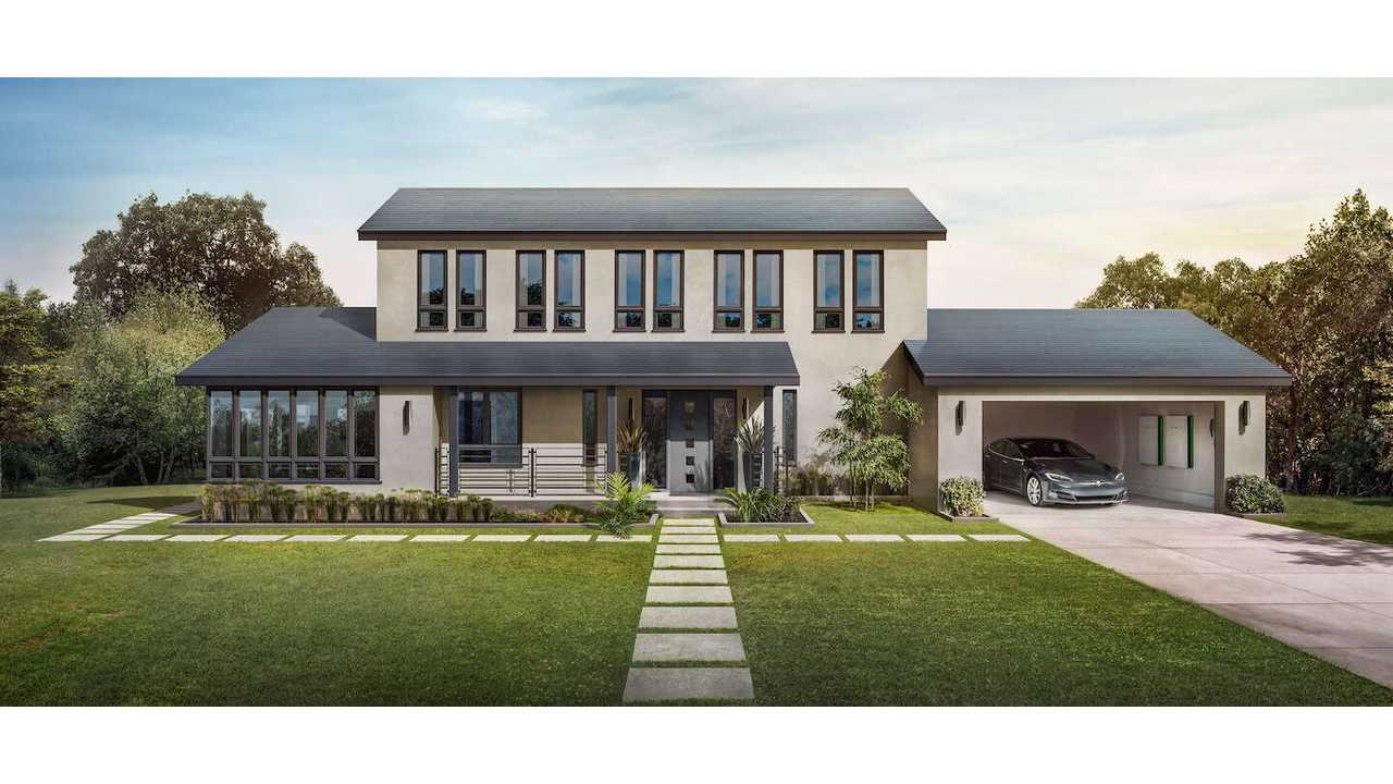 Also available now - Tesla Solar Roof in Smooth Glass