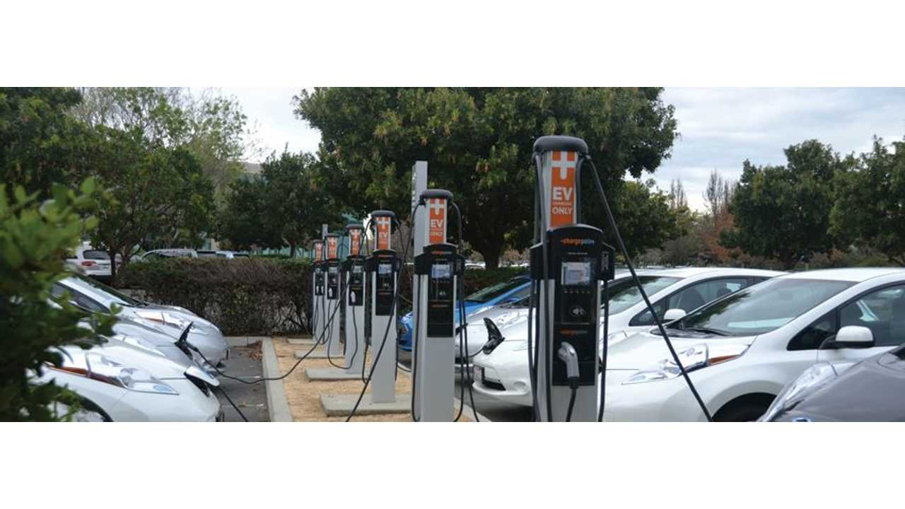 ChargePoint Roadmap For EV Charging: 80% Home/Work, 20% Public