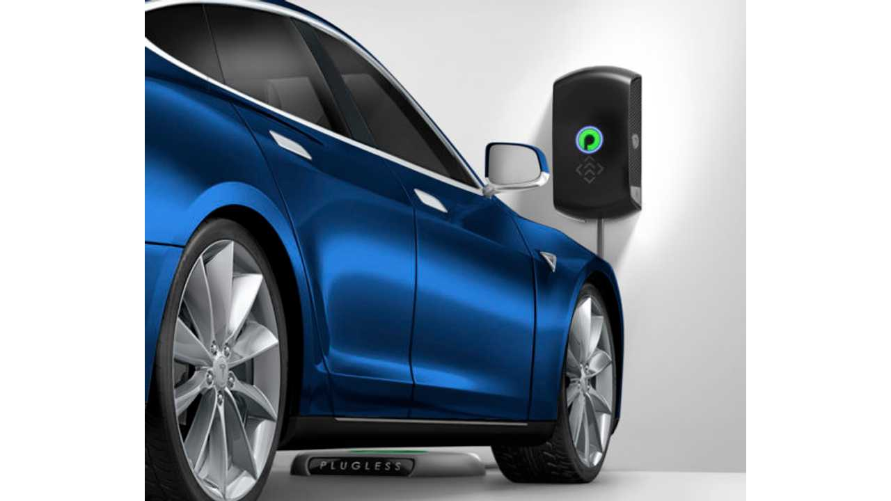 Plugless Wireless Charger for Tesla Model S