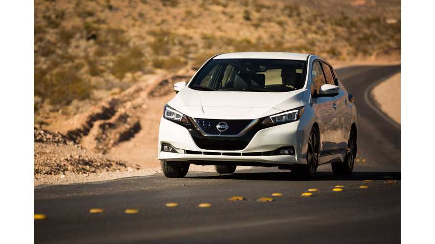 Nissan LEAF Sales Increase In September 2018
