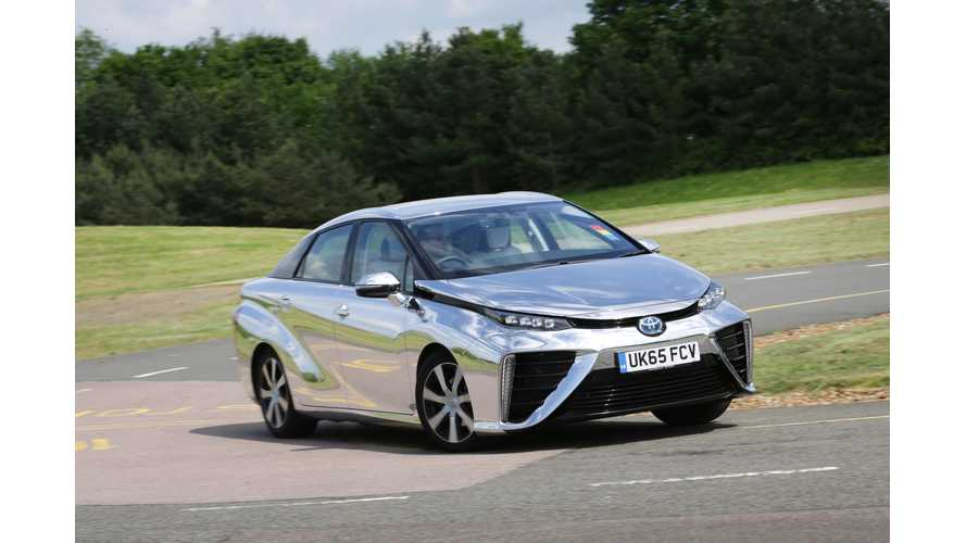 Total Number Of Hydrogen Fuel Cell Cars In U.S. Barely Exceeds 6,500