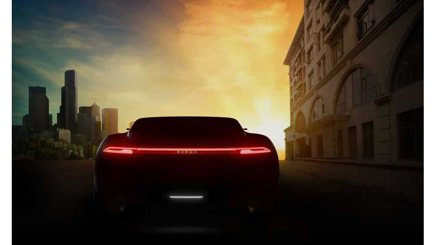 Karma Automotive Teases Electric Vision Concept For Auto Shanghai