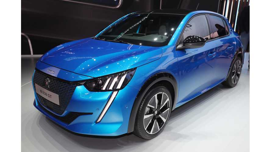 Peugeot Opens Reservations For e-208 In UK