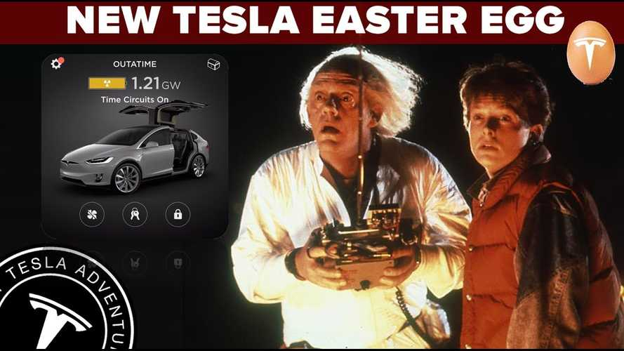 New Tesla Easter Egg Turns Car Into