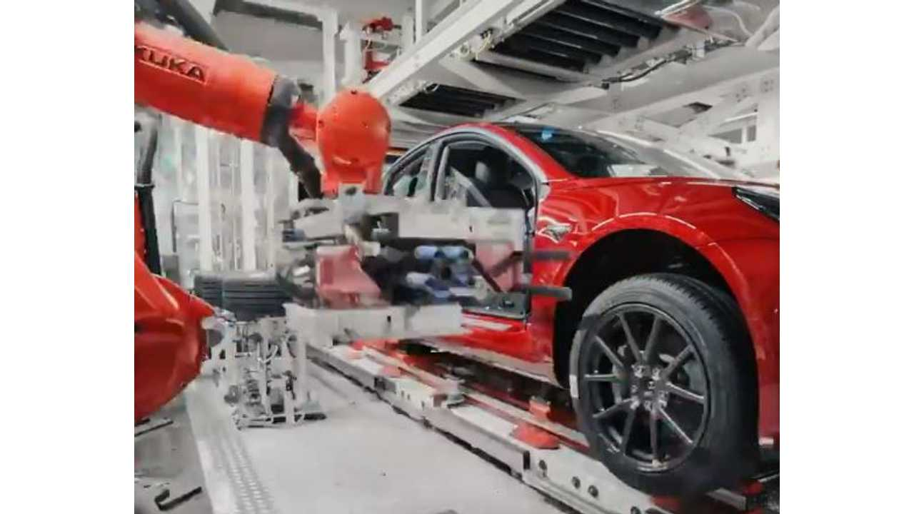 Watch This Tesla Model 3 General Assembly Video