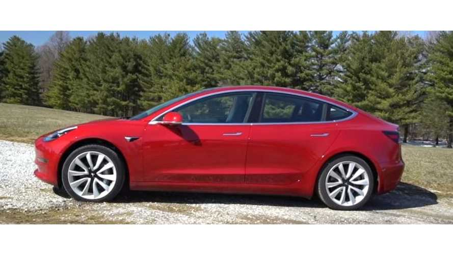 Consumer Reports' Follow-Up Video On Tesla Model 3 Ratings